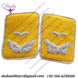 Luftwaffe Leutnant Collar Tabs