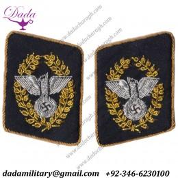 Nsdap Reichsleiter Collar Tabs Dress Tunic