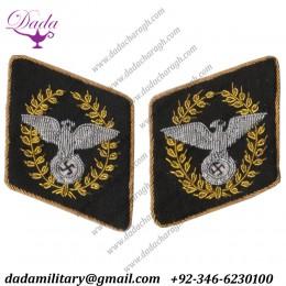 Nsdap Reichsleiter Wide Collar Tabs Dress Tunic