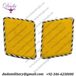 Sa Early Mustard Yellow Collar Tabs