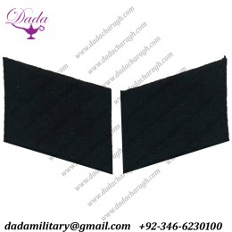 Allgemeine Ss Waffen Ss Sa Wwii German Black Collar Tab