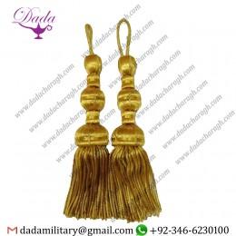 Wholesale Price Bullion Thread Golden Fancy Tassels