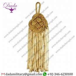 14cm (5,5 Inch)bullion Tassel Gold Metallic Thread And Viscose For Cope Pluviale And Liturgical Vestments