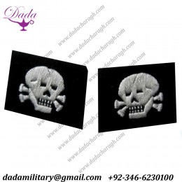 Totenkopf Enlisted Double Skulls
