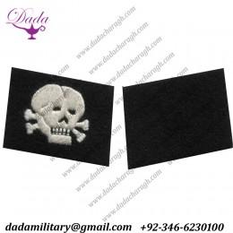 Totenkopf Enlisted Mans Collar Tabs