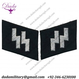 SS Runes Officers Mirrored Collar Tabs