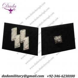 SS- Unterscharfuhrer Collar Tabs