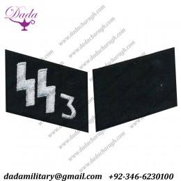 SS-vt Runes Em Collar Tabs Set Der Fuhrer