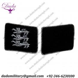 German British Free Korps Officers Collar Tabs