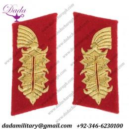 German Collar Badge Sheer General Collar Tabs