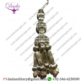 32cms Tassel Pallium In Silver Custom Made