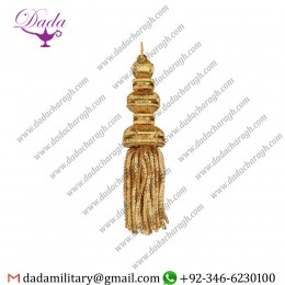 Bullion Tassel  FreTassels For Church Vestmentsnch Metallic Gold Tassel Gold Bullion Tassels  Decorative Bullion Tassel