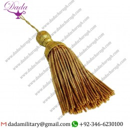 Bullion Tassel Gold Bullion Wire Decoration Tassel