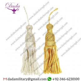 Bullion Wire Tassel For Jewelry Tassel Fringe, Tassel For Decoration