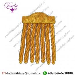 Chapeau Tassel Gold Bullion Wire