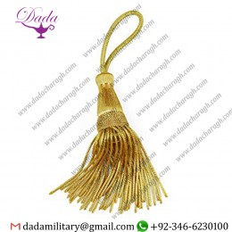 Custom Made Bullion Wire Tassels