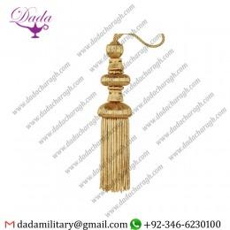 Decoration Fringe Tassel Gold Bullion Fringe Tassels