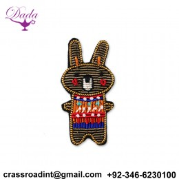 Hand Made Embroidery Pin Custom Design For Collar Accessories