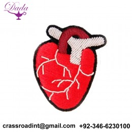 ANATOMICAL brooch hand embroidery brooch badges Bullion wire fashion jacket Indian China embroidered patches