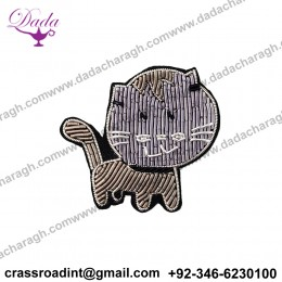 Cheap Price Embroidery Patch Brooch Clothing Garment