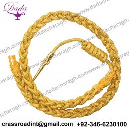 Aiguillette Gold Army Air Force Navy