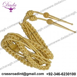 British Officers Aiguillette Gold Wire Shoulder Cord