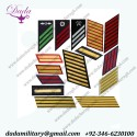 Military Hash Marks, service stripes, overseas service bars