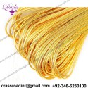 Smooth purl bullion wire thread