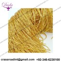 Check purl bullion wire thread