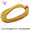 Pearl purl bullion wire thread