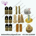 Military Shoulder boards rank sliders Epaulettes
